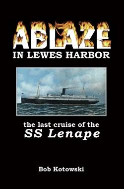 Ablaze in Lewes Harbor